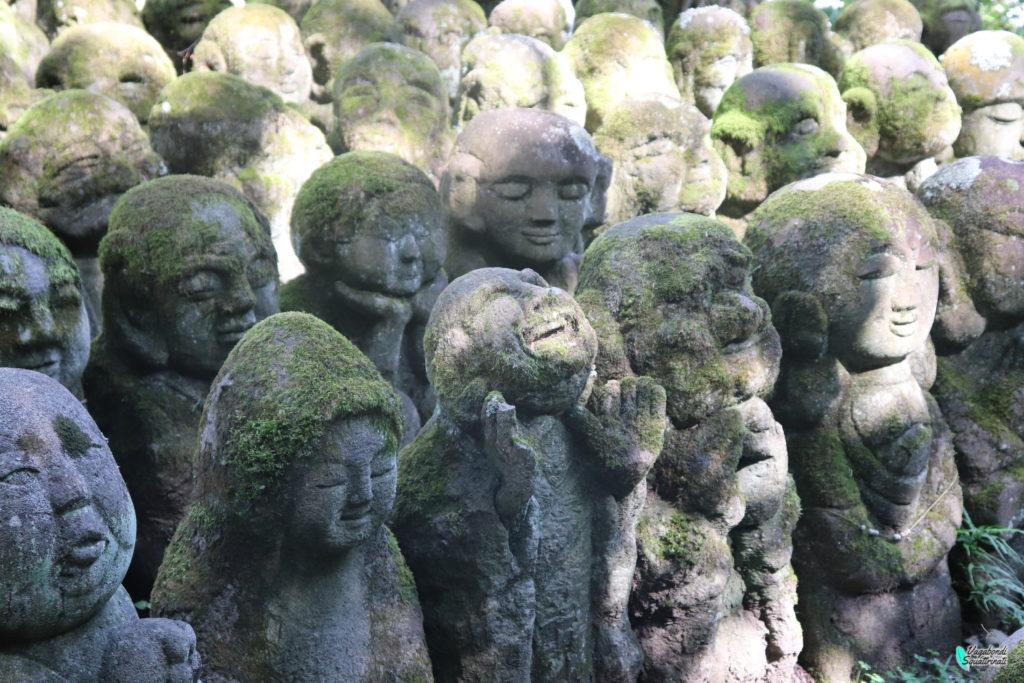 Otagi Nenbutsu-ji: il tempio delle mille facce