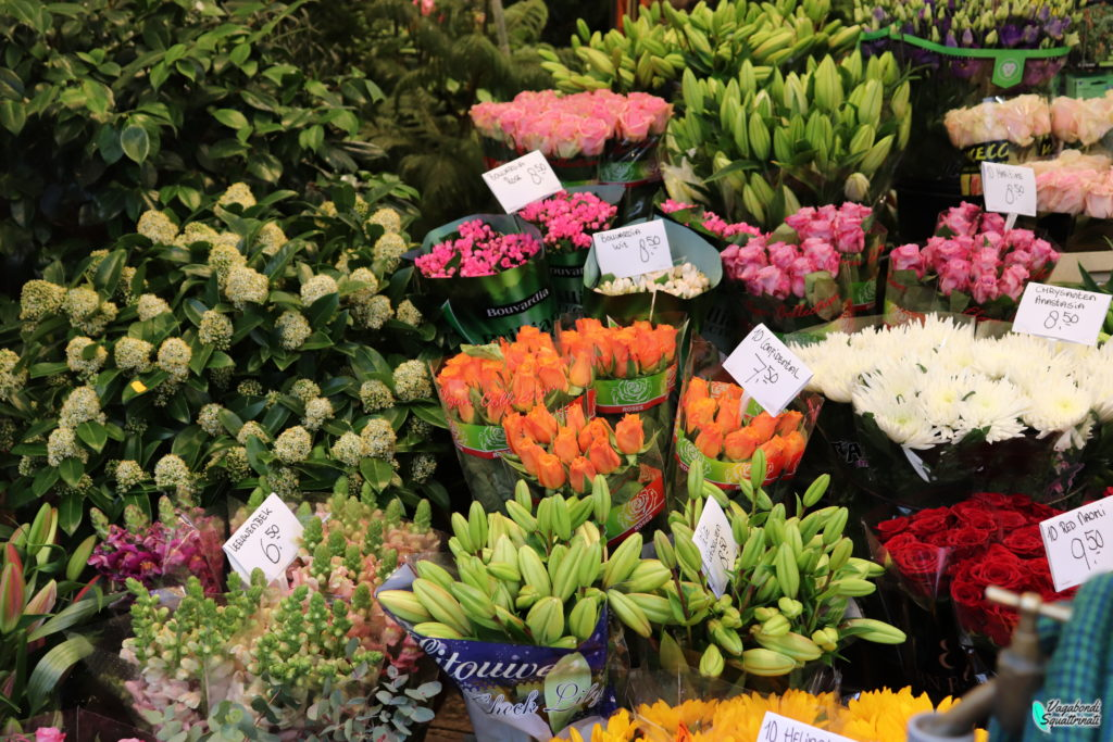 bloemenmarket mercato dei fiori amsterdam