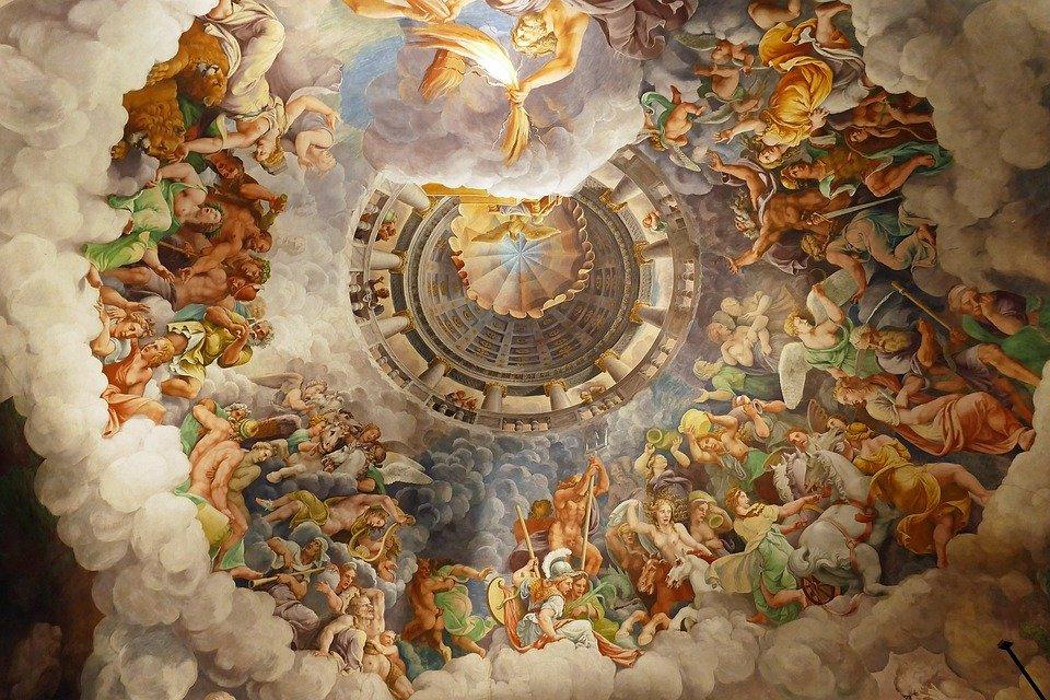 sala dei giganti palazzo te Mantova