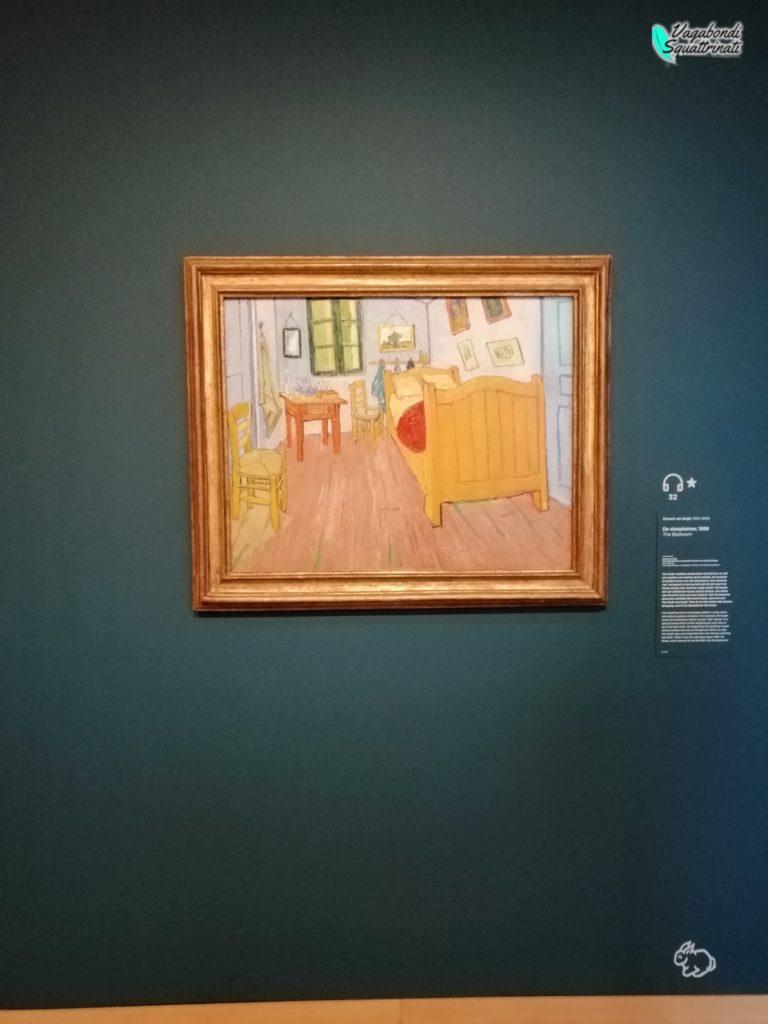 visitare il museo di van gogh camera da letto