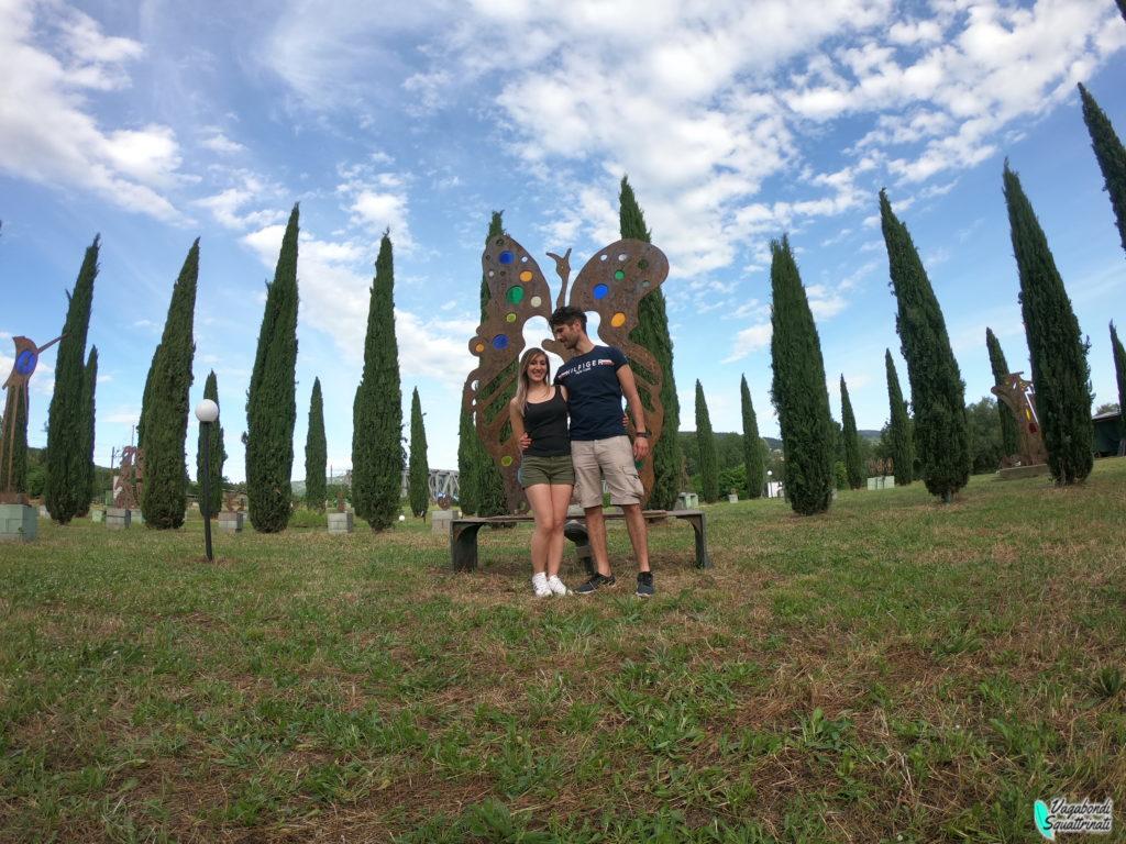 Al parco d'arte Enzo Pazzagli nel cuore di Firenze