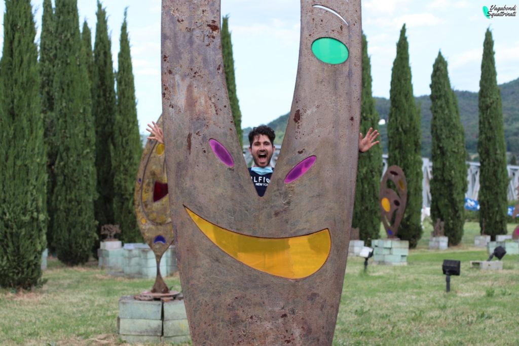 Matteo parco arte enzo pazzagli