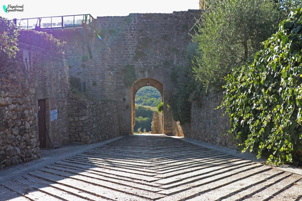 porta medievale Monteriggioni