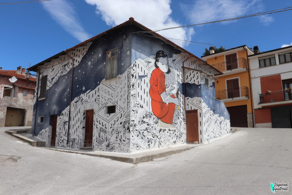 borgo murales aielli