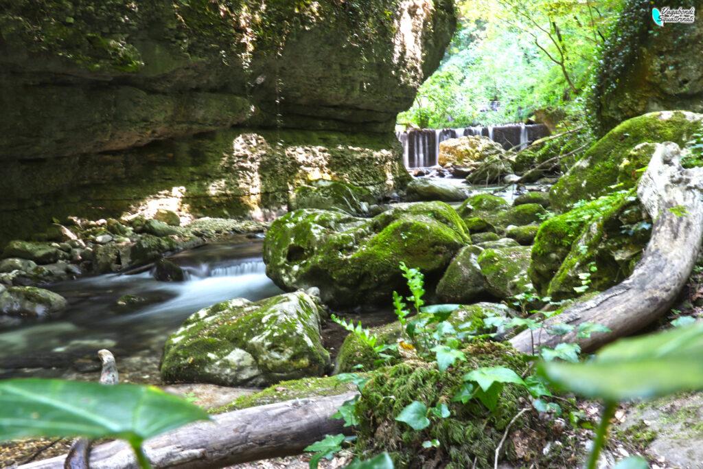 cascata sentiero scalelle