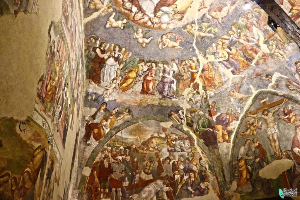 dettaglio affreschi