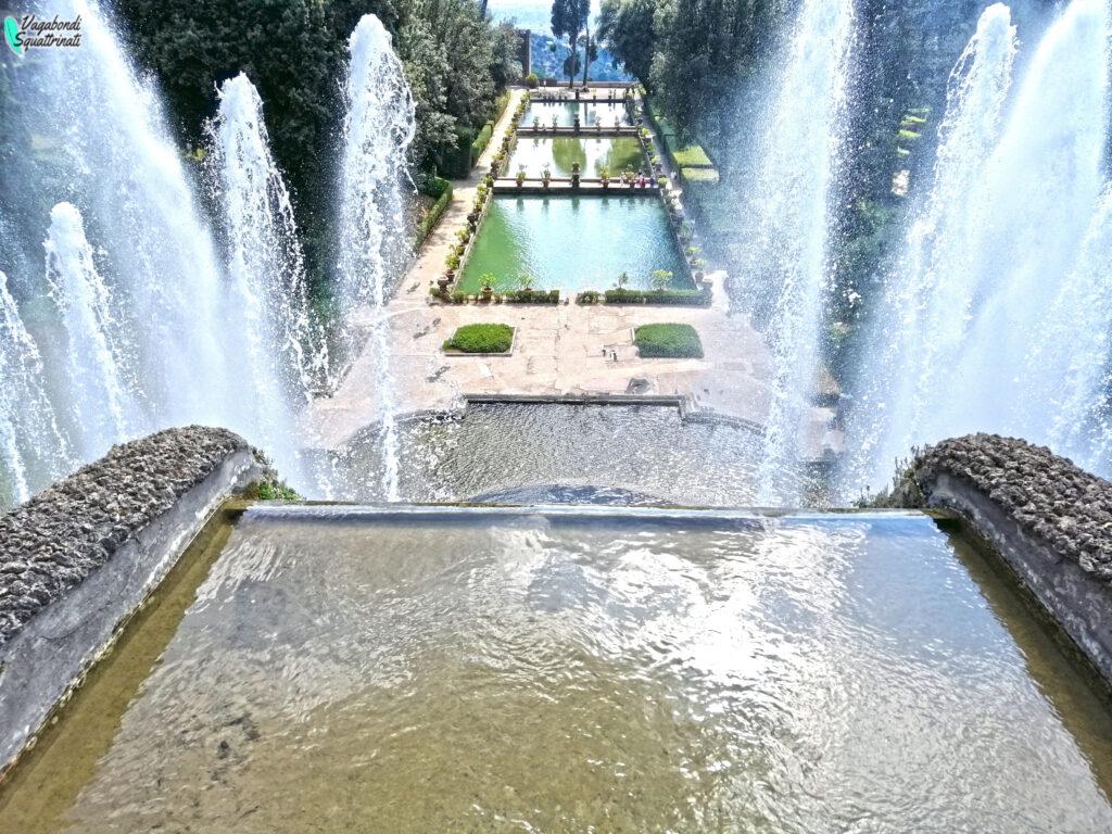 peschiere visitare villa este Tivoli