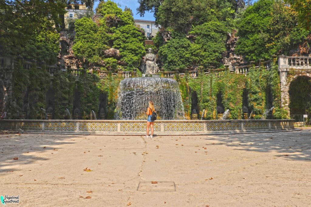 fontana dell'ovato Visitare Villa d'Este a Tivoli