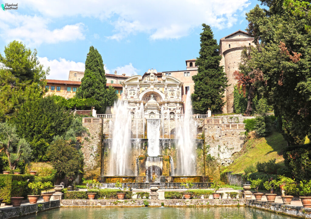 fontana di Nettuno visitare villa este Tivoli