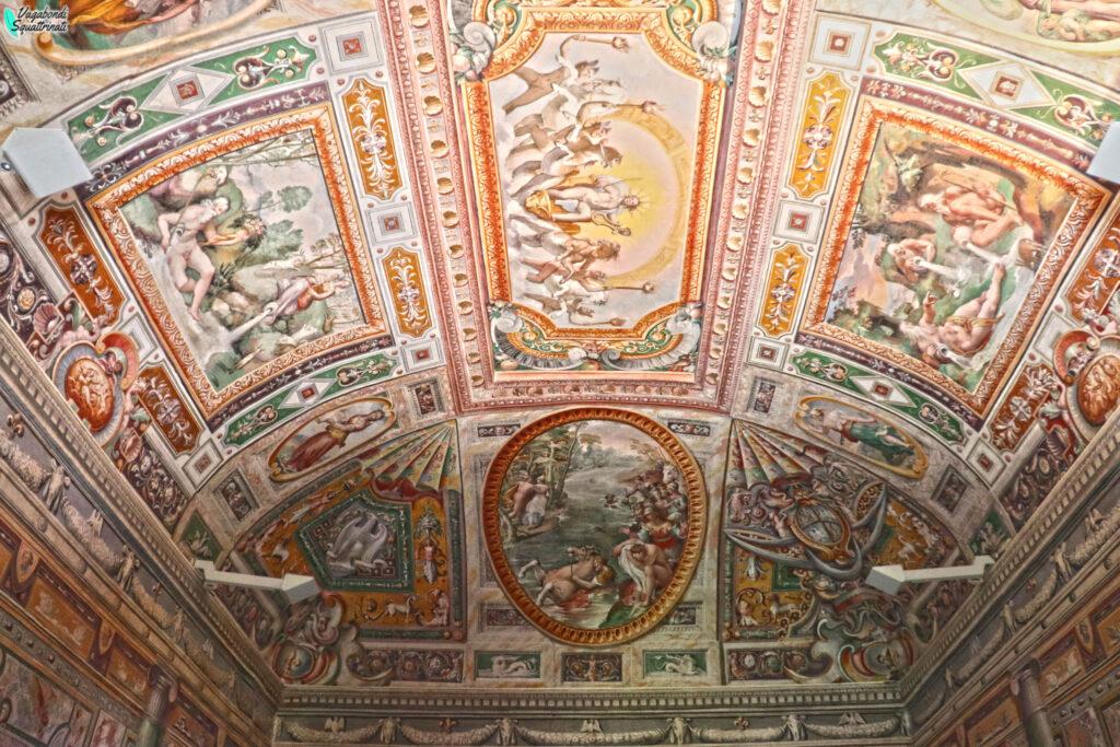 soffitto affreschi
