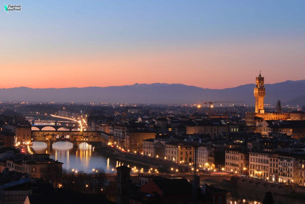 punti panoramici firenze piazzale Michelangelo