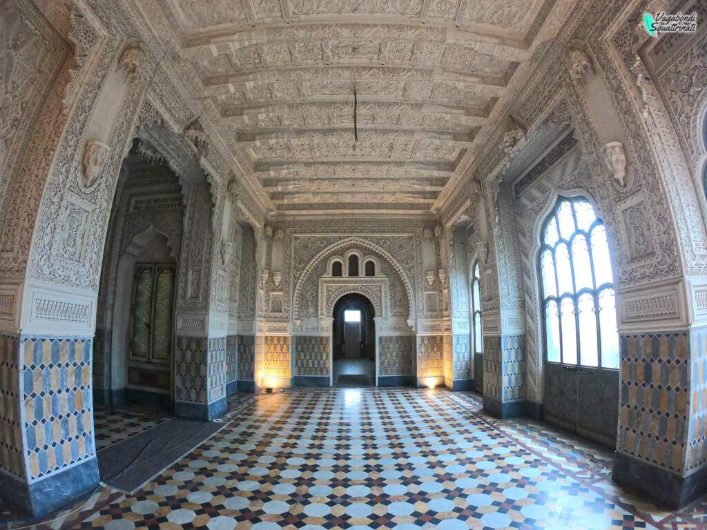 sala degli amanti visitare castello sammezzano