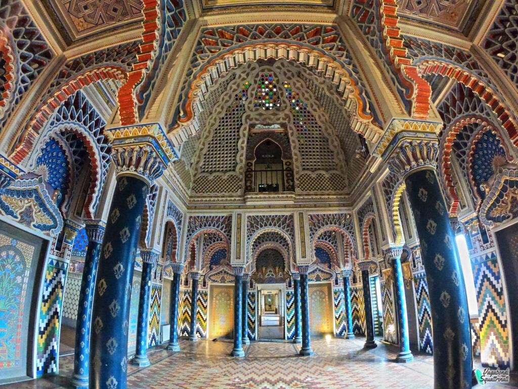sala de gigli visitare castello sammezzano