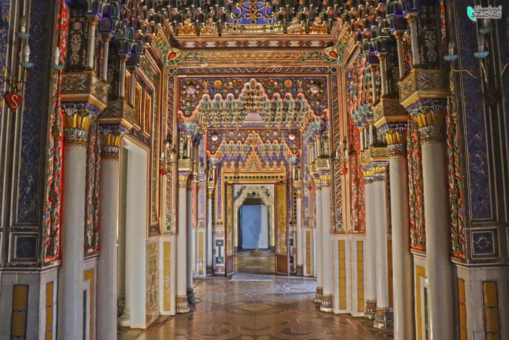 Galleria delle stalattiti visitare sammezzano
