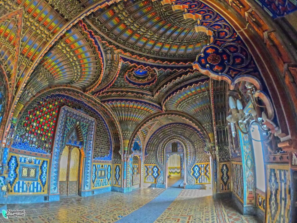 Visitare castello Sammezzano sala dei pavoni