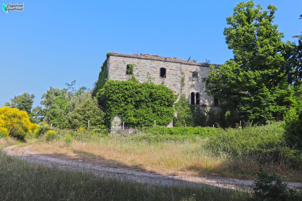 villa bombardata Santomato