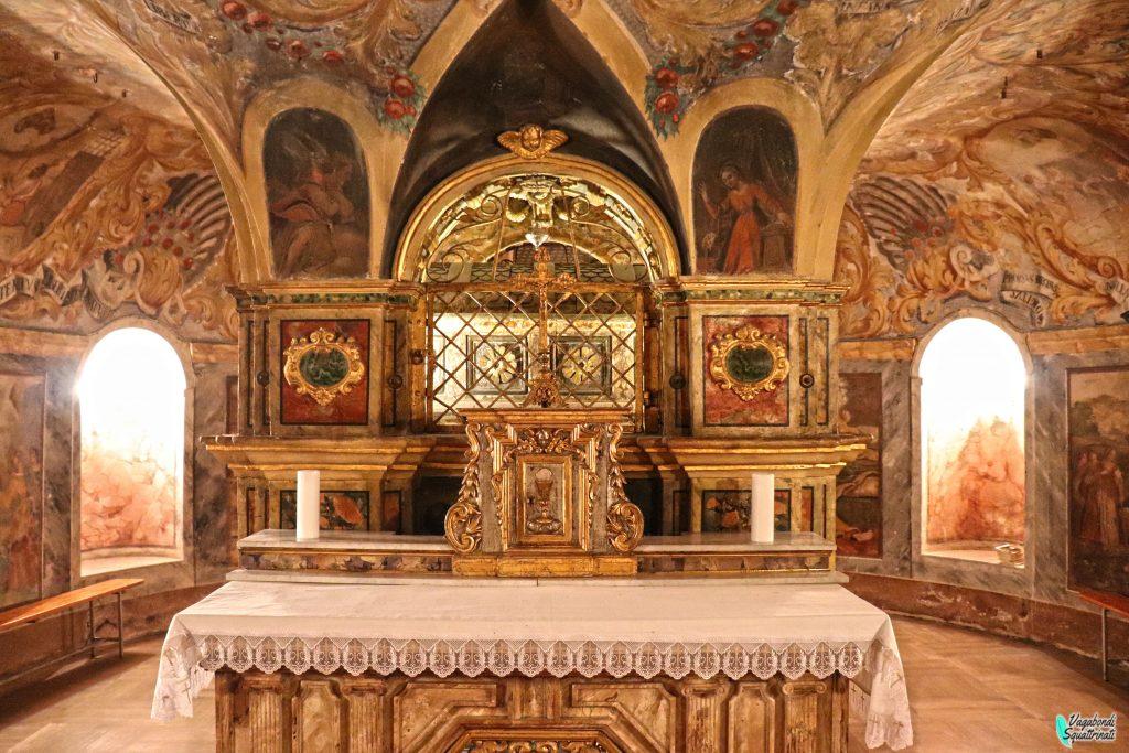 Cripta chiesa di san benedetto
